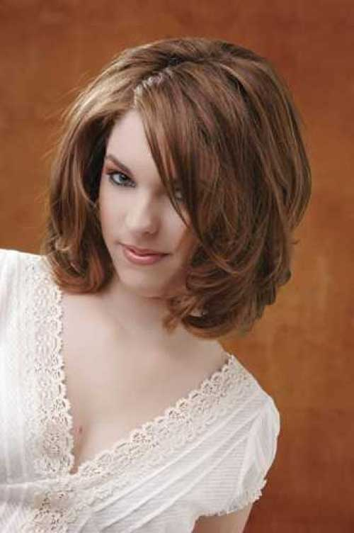 Thick Brown Bob Hairstyles