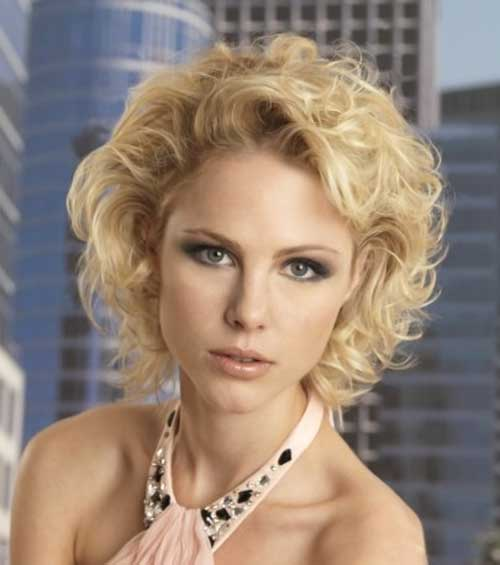 Daily Curly Bob Hairstyles 2018-2018