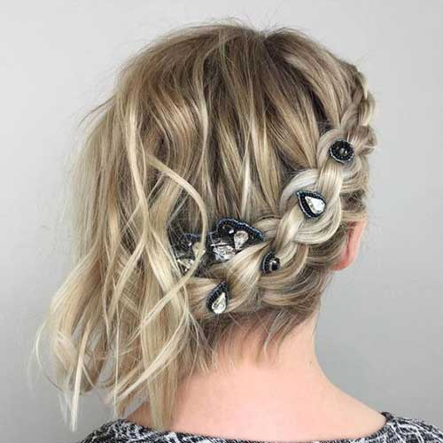 Party Hairstyles for Short Hair-8