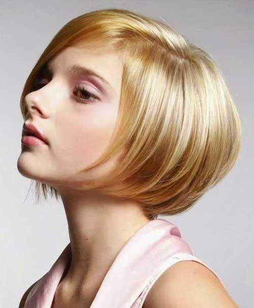 Short Bob Hairstyles for Girls