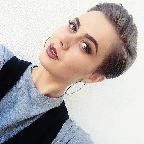 Short Hairstyles for Girls 2018 - 8