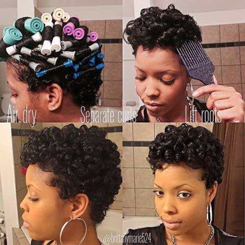 Short Curly Hairstyles for Black Women-6
