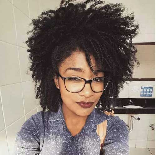 Short Curly Afro Hair