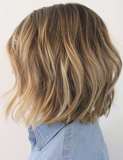 Best Textured Bob Hairstyle
