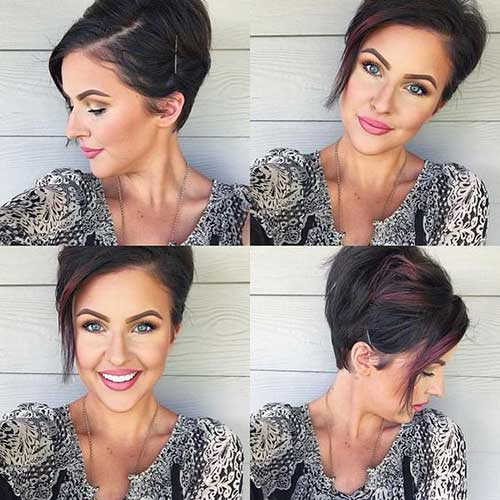 Short Hairstyles for Round Face-14