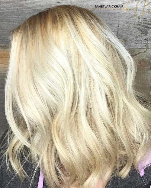 Short Blonde Hair 2018 - 8