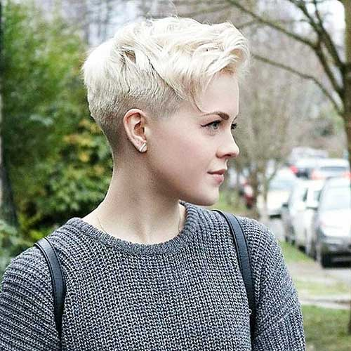 New Short Blonde Hair - 33