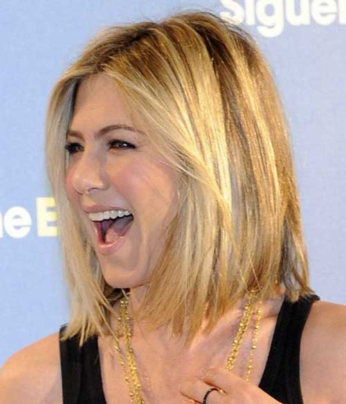 Jennifer Aniston Straight Bob Haircut