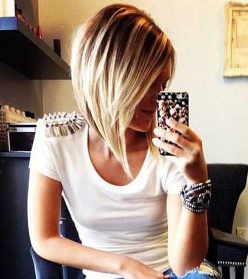 Straight Bobs Hairstyles for 2018-2018