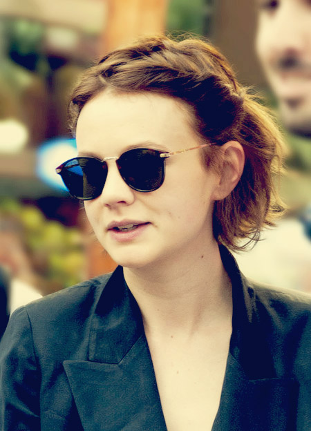 Carey Mulligan's Wavy Bob Cut