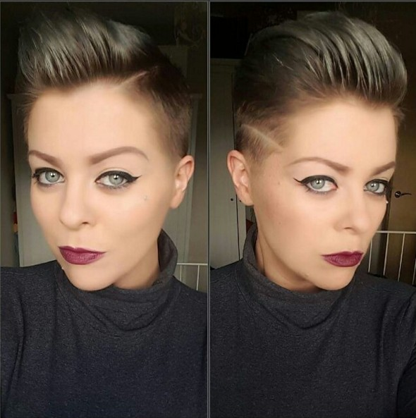 Trendy Shaved Pixie Haircut - Short Hairstyles for Fine Hair 2018