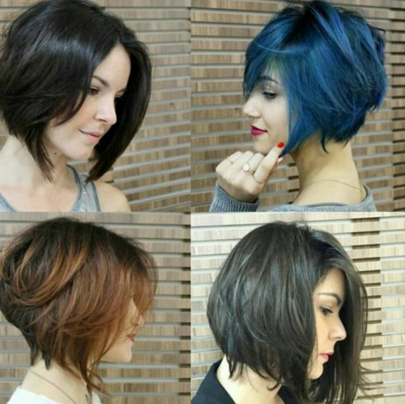 2018 Short Hairstyles for Girls and Women
