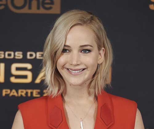 Jennifer Lawrence Short Haircuts