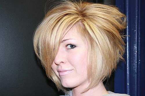 Bob with Asymmetric Cut Side Bangs