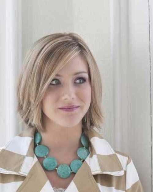 Girls Choppy Straight Bob Hairstyles