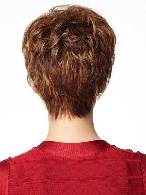 Best Back Of Layered Pixie Cut