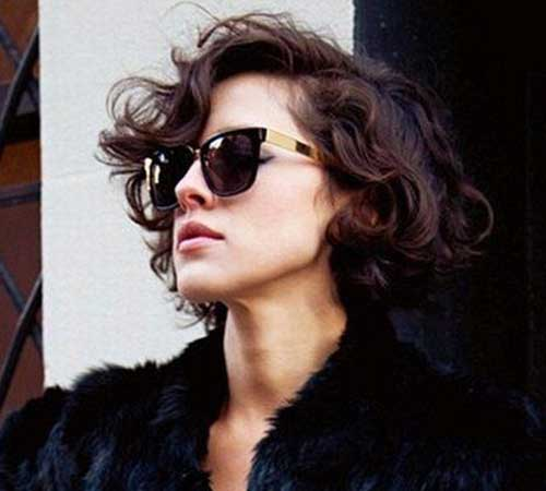 Curly Short Hairstyles for Ladies-8