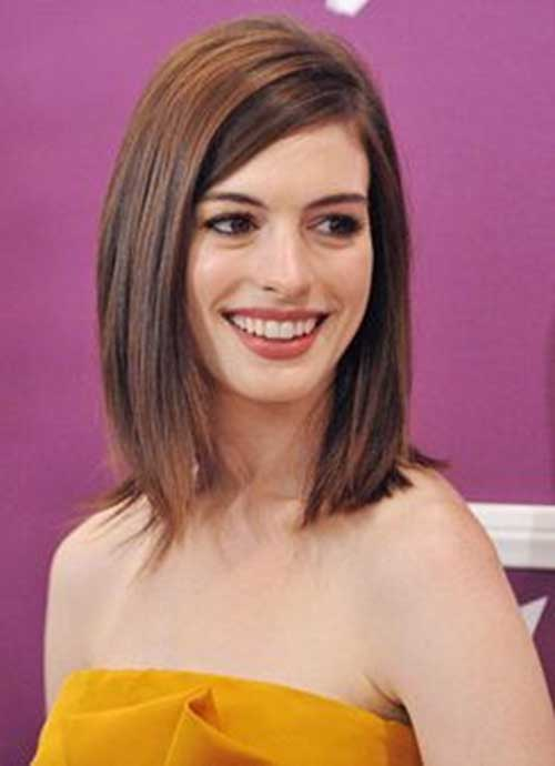 Best Brunette Straight Bob Hairstyles