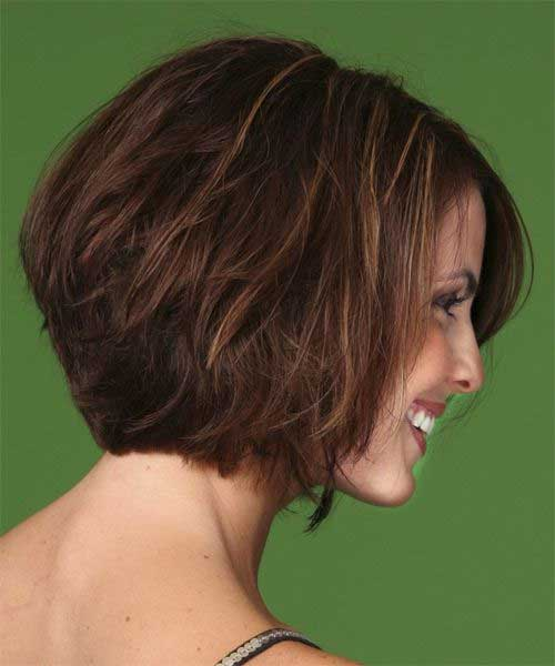 Back View Of Short Thick Bob Hairstyles