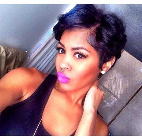 Black Women Pixie Cut