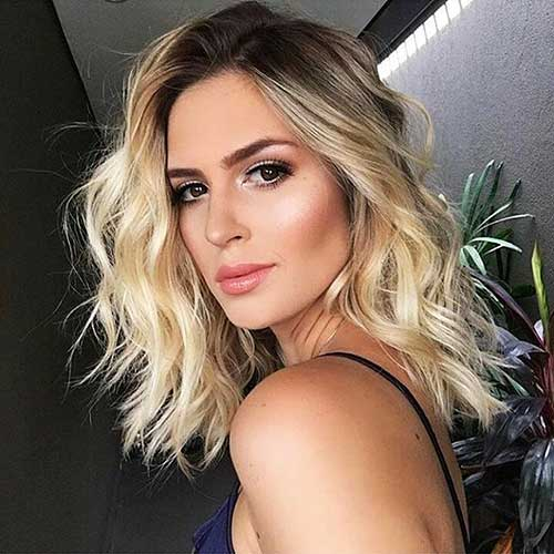 Short Blonde Hairstyles 2018