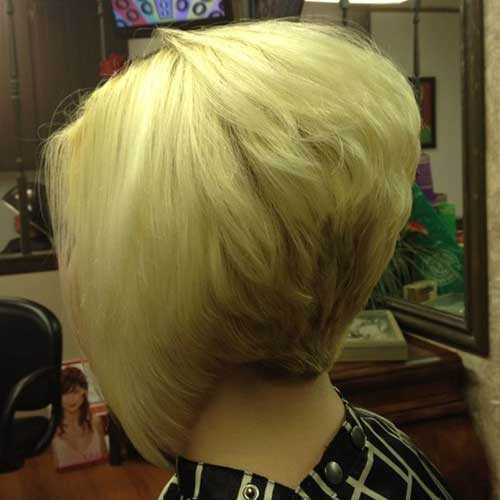 Stacked Layered Inverted Bob