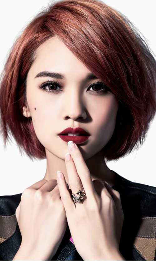 Cute Hairstyles for Short Hair-23