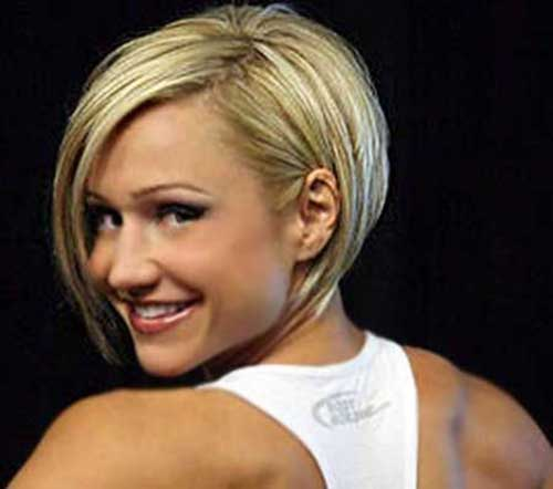 Blonde Straight Bob Hairstyles
