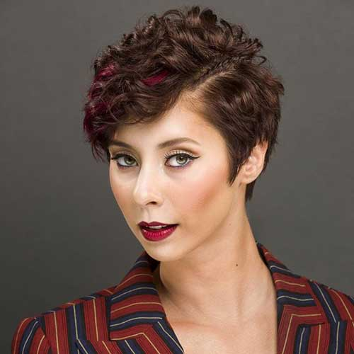 Very Short Curly Hairstyles-15