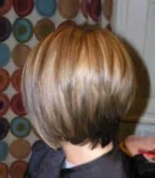 Chic Inverted Bob Back View