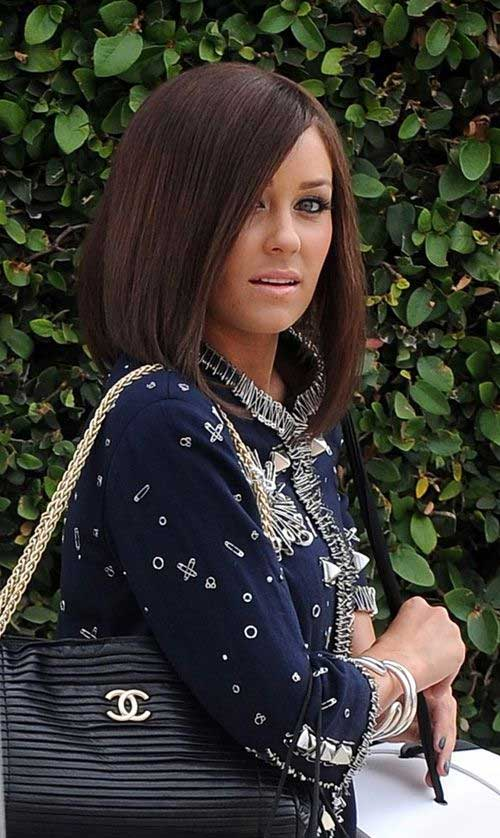 Lauren Conrad Long Angled Bob Hair Type