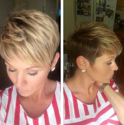 Trendy Hairstyles for Short Hair-10