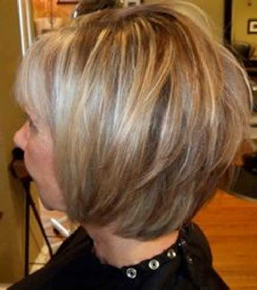 Photos of Layered Bobs Haircuts