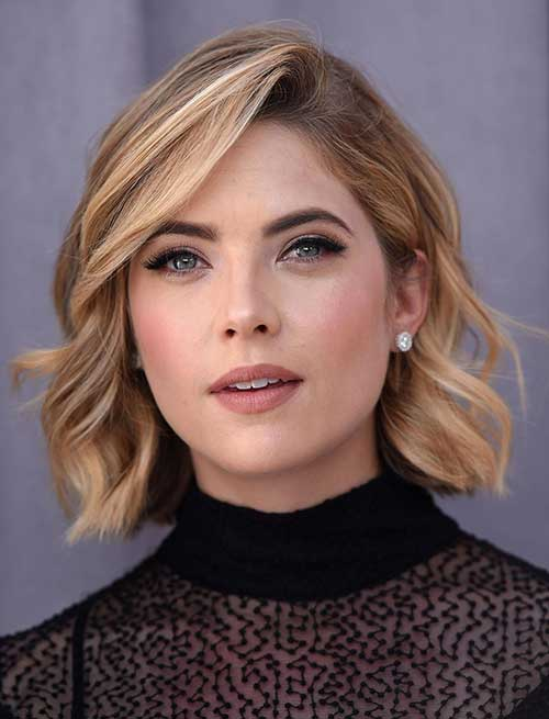Cool Messy Wavy Bob Haircuts 2018