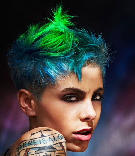 Hair Colors for Short Hair 2018_3