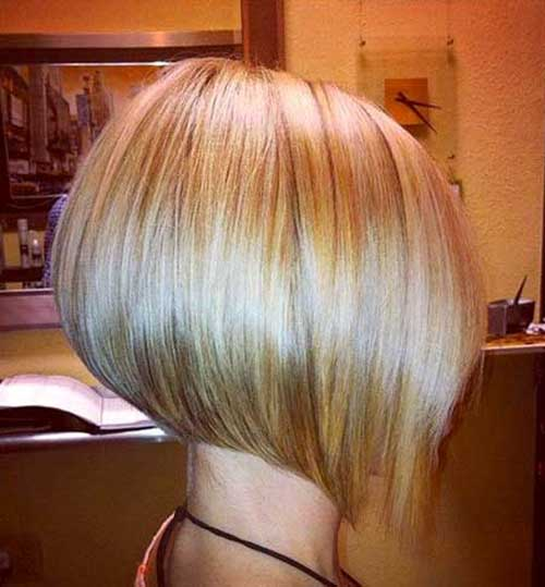 Blunt and Inverted Blonde Bob Color Ideas