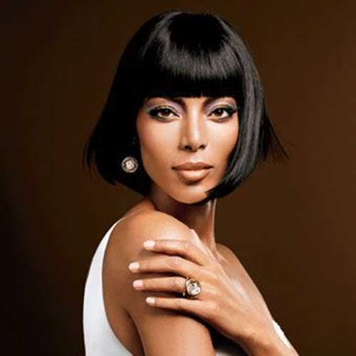 Blunt Bob Hairstyles for Black Girl