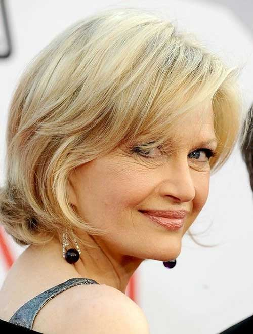 Layered Bob Cut Idea for Over 50