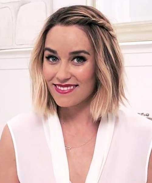 Cute And Easy Hairstyles For Short Hair-26