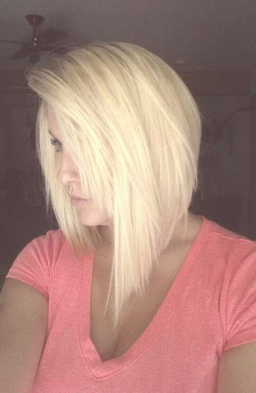 Long Inverted Bob Hairstyles 2018