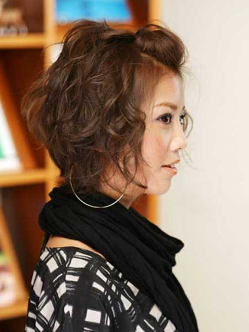 Curly Asian Bob Hairstyles 2018-2018