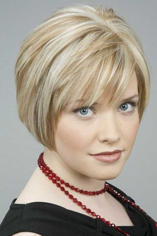 Bob Haircuts for Round Faces-6