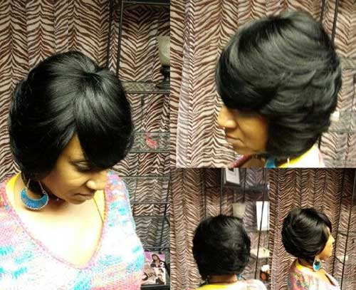 Best Short Layered Weave Bob Hairstyles