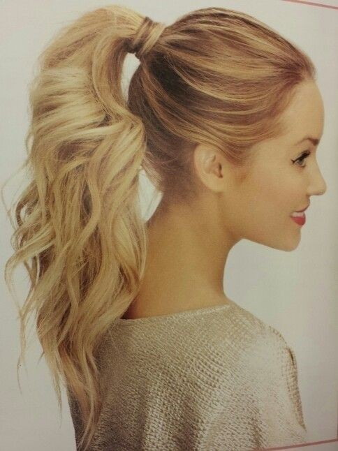 Cute, Easy Ponytail Ideas - Summer and Fall Hairstyles for Long Hair