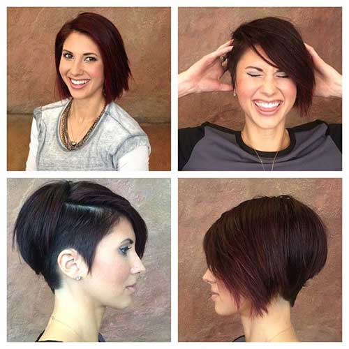 Trendy Short Hairstyles 2018-20