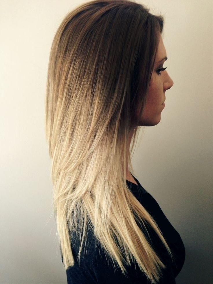 Cute, Ombre Haircuts: Long Straight Hair Styles for Girl