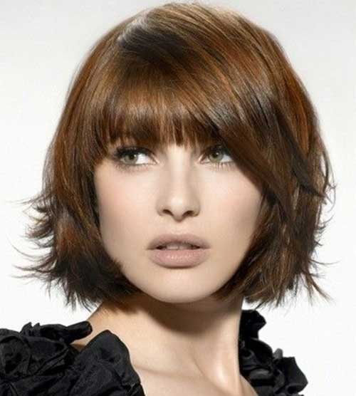 Choppy Bobs For Thick Brown Hair