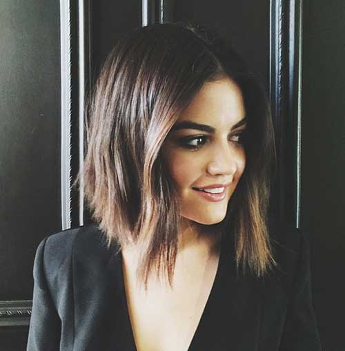 Lucy Hale Bob Hairstyles