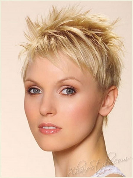 Awesome Spiky Pixie Cut