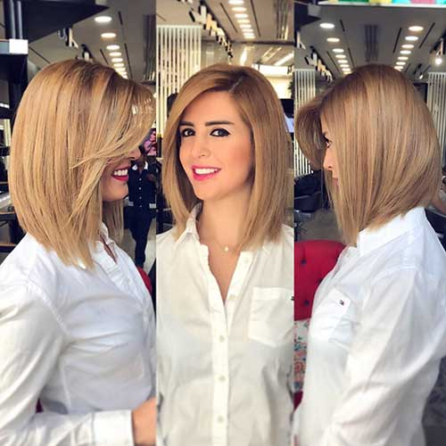 Short Straight Hairstyles 2018
